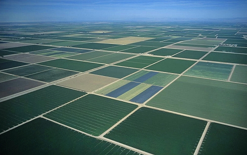 Airphoto Aerial Photograph Of Imperial Valley Imperial