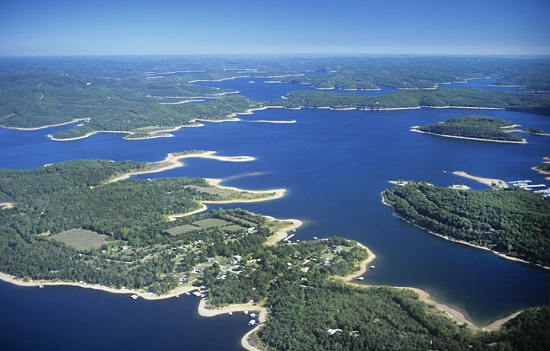 Benton (AR) United States  city photos gallery : Aerial photo of Beaver Lake, Benton County, Arkansas, AR United States