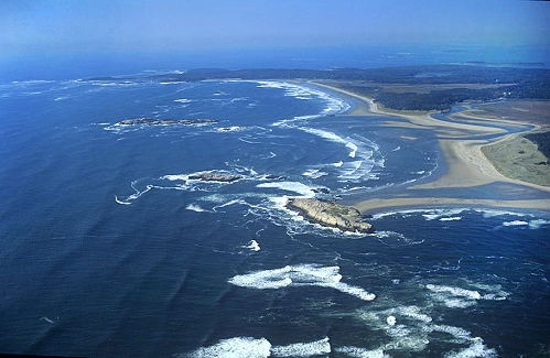 Airphoto Aerial Photograph Of Small Point Beach