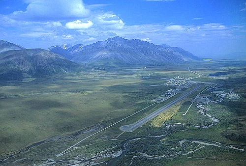 Airphoto Aerial Photo Of Anaktuvuk Pass North Slope