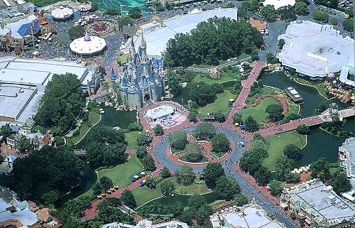Airphoto Aerial Photograph Of Disney World Orlando Florida 4896