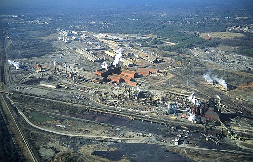 Bessemer (AL) United States  city photo : ... photo of Steel Mill, Birmingham Bessemer , Alabama, AL United States