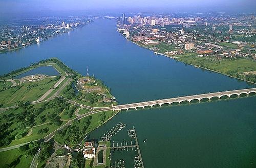 Belle isle city park detroit river detroit michigan mi united