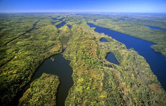 airphoto   aerial photo of pine lake amp long lake bwca