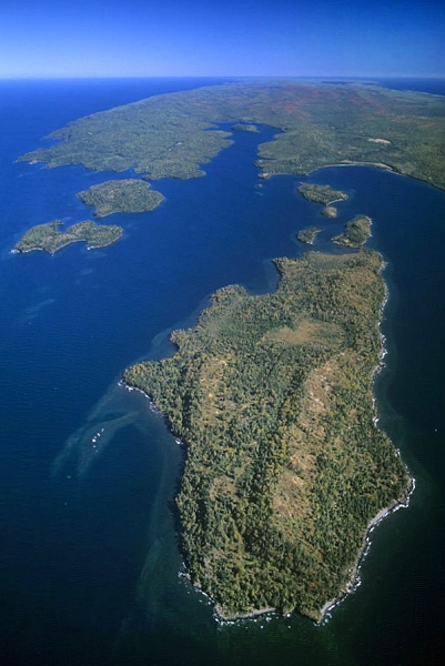 Airphoto NA - Washington Island, Keweenaw County, Michigan