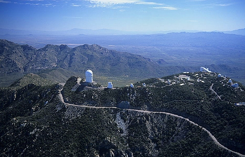 Airphoto - Aerial Picture of Kitt Peak National Observatory