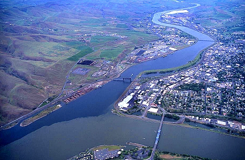 Lewiston (ID) United States  City pictures : ... Clearwater Confluence, Route US 95, Lewiston, Idaho, ID United States