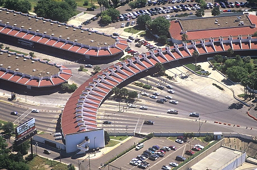 Laredo (TX) United States  city photos gallery : Aerial photo of Port of Entry, Laredo, Texas, TX United States