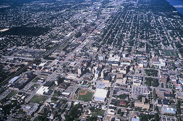New Columbia (PA) United States  city pictures gallery : ... photo of Downtown Erie, I 90, Erie, Pennsylvania, PA United States
