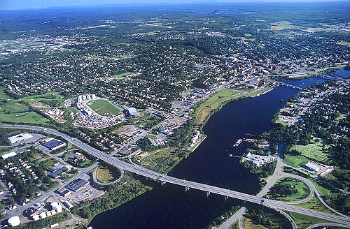Bangor (ME) United States  city pictures gallery : ... photo of Bangor, Maine Rte. 9, Penobscot County, ME United States