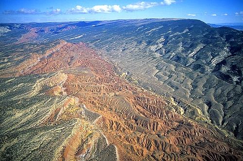 Uintah (UT) United States  City new picture : Aerial photo of Escarpment, Uintah County, Utah, UT United States