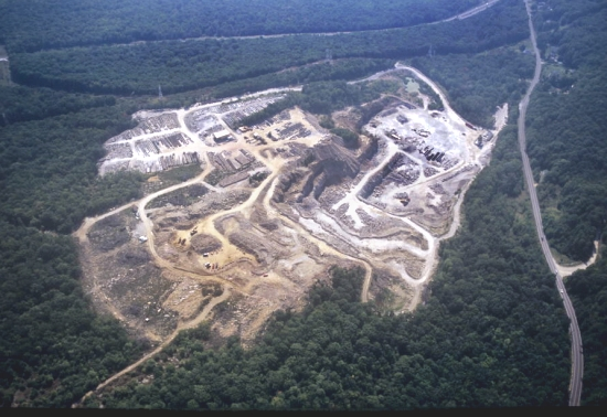 New Columbia (PA) United States  city pictures gallery : ... of Strip Coal Mine, Sullivan County, Pennsylvania, PA United States