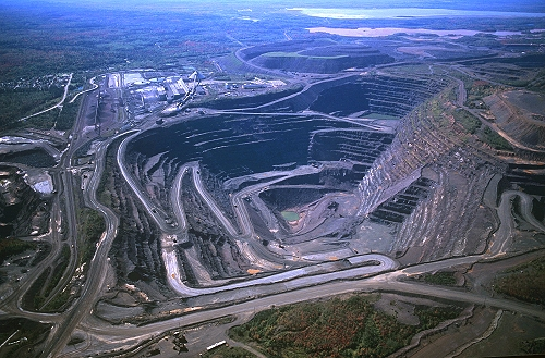 Airphoto Aerial Photograph Of Empire Iron Mine