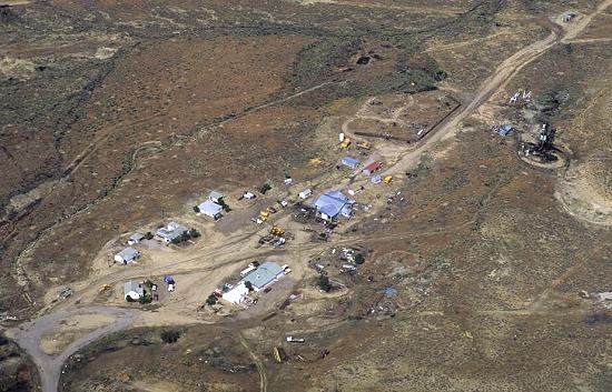 Uintah (UT) United States  city photo : Aerial photo of Gilsonite Mine, Uintah County, Utah, UT United States