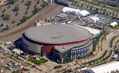 Airphoto Aerial Photograph Of Pepsi Center Denver