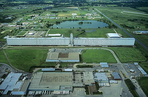 South Hutchinson (KS) United States  City new picture : Aerial photo of Grain Elevator, Reno County, Kansas, KS United States
