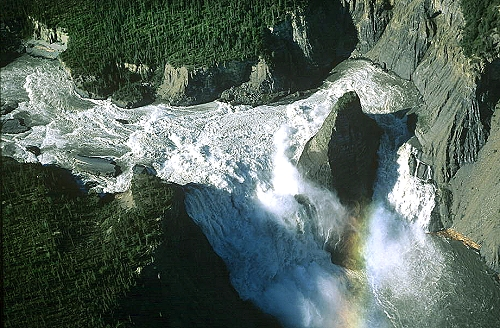 site réputé c3f32 96fc8 Airphoto - Aerial Picture of Virginia Falls, Nahanni River ...