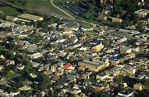 Gettysburg (PA) United States  City new picture : ... of Downtown Gettysburg, Adams County, Pennsylvania, PA United States