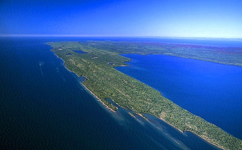 Comstock Park (MI) United States  City pictures : Airphoto Aerial Photograph of Isle Royale, Keweenaw County, Michigan ...