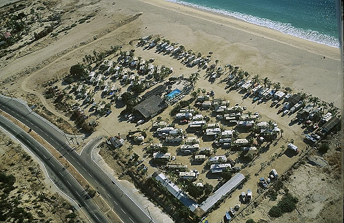 Aerial Photo Of Cabo RV Park Baja California Sur Mexico