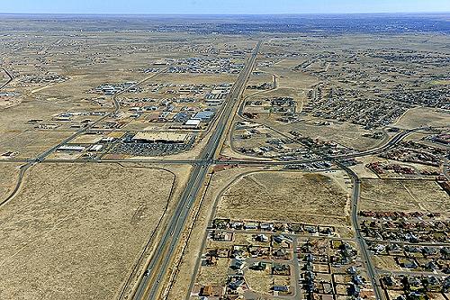 Airphoto - Aerial Photo of Pueblo West, Pueblo County ...