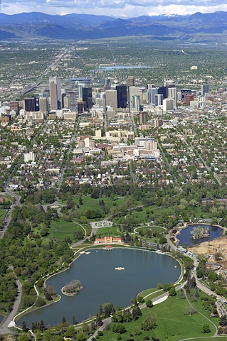 Airphoto - Aerial Photograph of Denver City Park, City and ... - photo#45