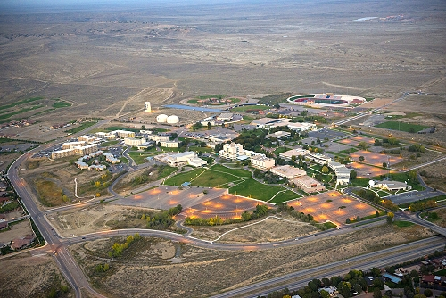 Pueblo (CO) United States  City pictures : Aerial photo of CSU Pueblo Campus, Pueblo, Colorado, CO United States